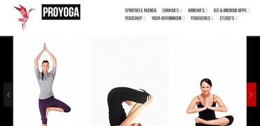 ProYoga site