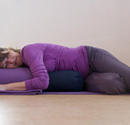 restorative yoga twist