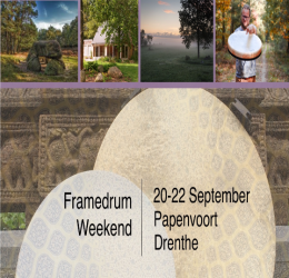 Spirituele agenda - Framedrum weekend in Drenthe