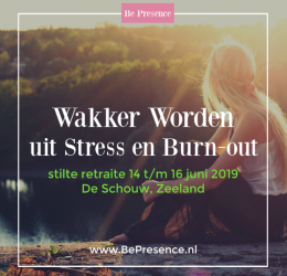 Spirituele agenda - Wakker worden uit Stress&Burn-Out (Stilte Retreat)